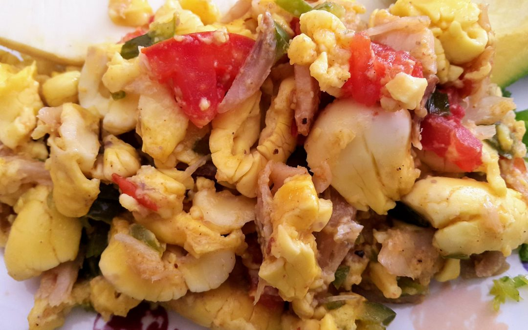 Ackee and Saltfish Recipe – Jamaican National Dish
