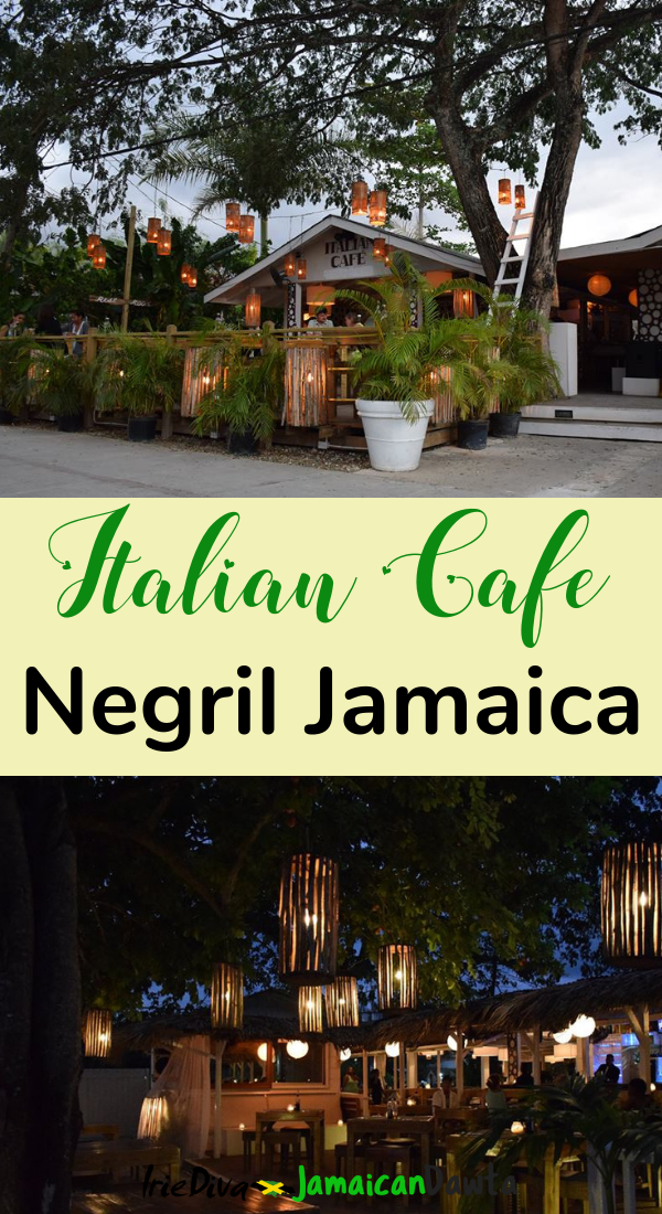 Italian Cafe in Negril review: Cozy restaurant in Negril Jamaica