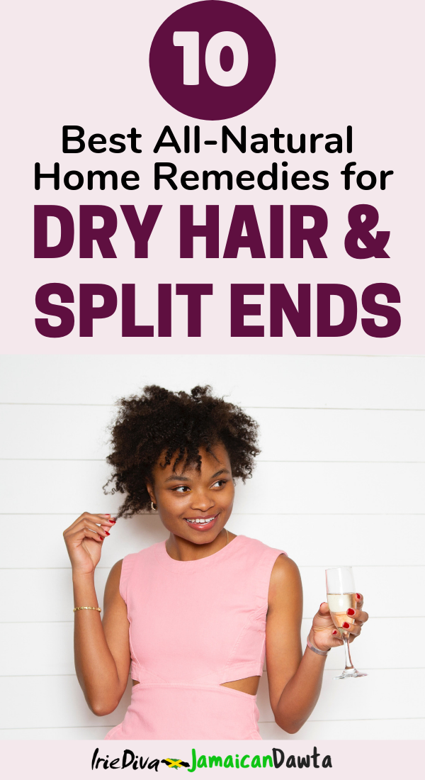 The 10 Best Home Remedies for Dry Hair and Split Ends - Dry hair treatment, split end remedies, coconut oil, mayonnaise and more