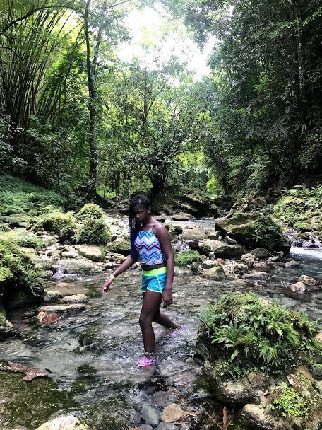 Hike through Reach Falls Portland Jamaica