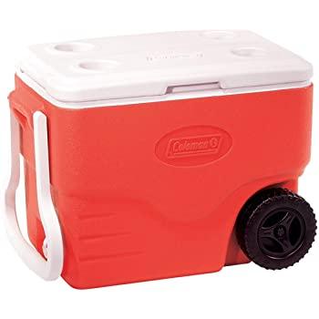 coleman beach cooler