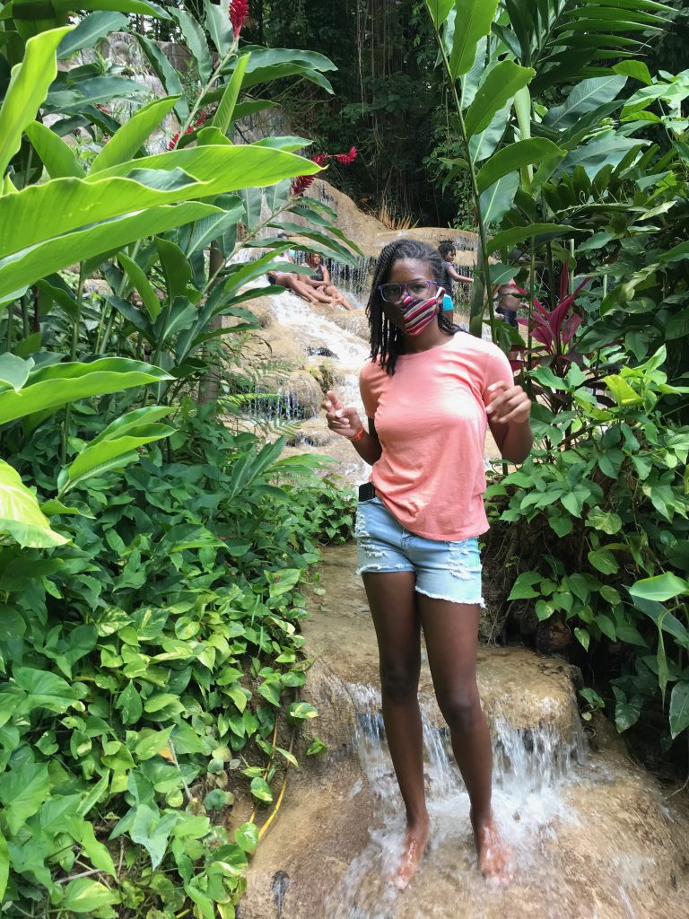 Konoko Falls Ocho Rios Jamaica